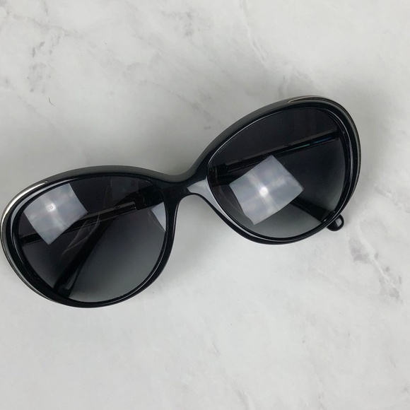 46f0f4085479 CHANEL Accessories | Sunglasses 6037 Black Cat Eye Polarized | Poshmark
